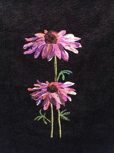 Cone Flower Quilt   by CottonSheep,