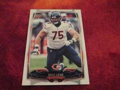 2014 Topps Football Kyle Long Card# 95, Chicago Bears by jmstar98