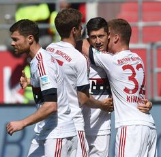 Müller, Lewandowski & Kimmich
