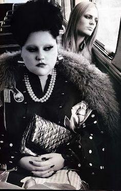 "niwdenapolis: ""Size Zero"" Beth Ditto in Pop Magazine - The Siren Issue Beth Ditto, Pop Magazine, Zaftig, We Will Rock You, Size Zero, Think, Look Vintage, Celebs, Celebrities"
