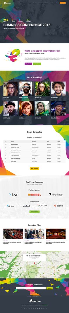 Planning to launch a website for your next event? Eventum is the perfect…