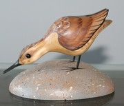 Gary Starr's birds are sometimes graceful *and* whimsical. Should he be on our Birds in Art pinboard? Woodcarving pinboard? Both?