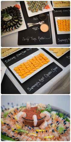 Delicious catering from Webster's Catering! http://jetsetwedstyleblog.com