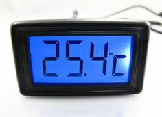 XSPC LCD Temperature Sensor (Blue) V2