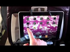 Spiderpodium Tablet on a plane