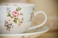 What is it about a beautiful tea cup that makes you like tea even more : )
