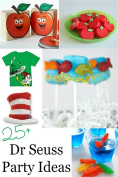 March is Dr Seuss birthday! Are you planning a party? Dr Seuss wrote some of the most beloved children's books around. Many parents use his birthday Dr Seuss Activities, Party Activities, Activities For Kids, Crafts For Kids, Dr Seuss Party Ideas, Dr Seuss Birthday Party, Birthday Parties, Dr Seuss Day, Dr Suess