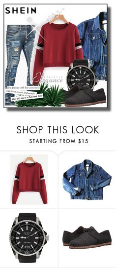 """""""SheIn"""" by semini-931 ❤ liked on Polyvore featuring Yves Saint Laurent, Gucci and ED Ellen DeGeneres"""