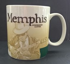 Starbucks Memphis 2011 Collector Series 16 oz Coffee/Tea Mug #Starbucks