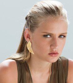 Wing Earrings, Phoenix Earrings, Boho Statement #jewelry #earrings @EtsyMktgTool http://etsy.me/2y45pjG
