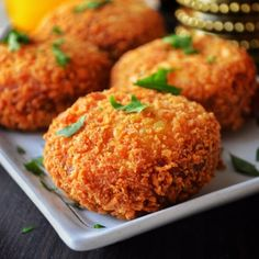 Potato chops - A very crispy and light appetizer that tastes really great.