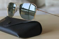 AUTHENTIC RAY BAN RB 3136 CARAVAN 001 58-15 140 3N SUNGLASSES - NEW