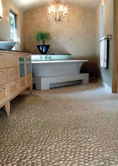 """The tiles we WOULD have had in our custom shower on Cedar Hill if Andy had and """"H"""" in front of his name...:)"""