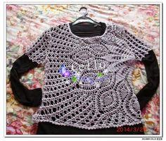 Crochet Knitting Handicraft: Vest