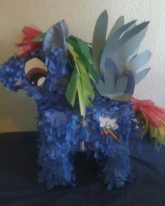 My Little Pony Party - Rainbow Dash Piñata