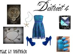 """""""Hunger Games District 4 Inspired Outfit"""" by tinkpink08 on Polyvore"""