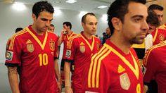 Andres Iniesta,Xavi Hernandez and Cesc Fabregas !