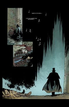 """Here's To The Devil…"" 5 Pages From Dark Horse's Adaptation Of Jack The Ripper"