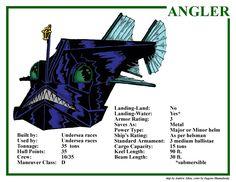 Spelljammer Ship - Angler