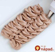 Zatiaľ najlepší čokoládový krém na zdobenie, do dezertov a sladkých pohárov: Recept priamo od výbornej pani cukrárky!