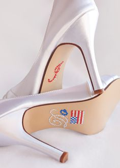 Wedding Shoes I DO Shoe Decal - Red White Blue Wedding - Military Wedding Shoes - Crystal Wedding Shoe Stickers - Bridal Shoe Decals Navy Military Weddings, Military Wedding Cakes, July Wedding, Dream Wedding, Summer Wedding, Marine Corps Wedding, Wedding Types, Wedding Ideas, Crystal Shoes