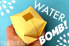 Easy Paper Water Bom