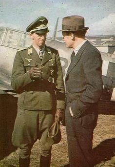 Hermann Graf & Willy Messerschmitt