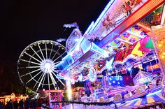 Winter Wonderland Festival in Hyde Park, London... merry- go- round bar for the adults...need I say more?