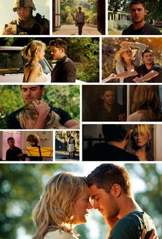 The Lucky One I watched this movie last night and it was just amazing as always! The Lucky One, 3 In One, Go To Movies, Great Movies, Nicholas Sparks Quotes, Love Scenes, Dear John, Romance Movies, My Soulmate