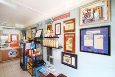 Village Coffee, Gourmet Sandwiches, Homemade Ice Cream, Gallery Wall, Home Decor, Home Ice Cream, Homemade Home Decor, Interior Design, Home Interiors