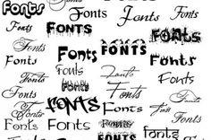 Fornisco circa 200 fonts per Word #pc #computer #font #fonts #word #scrittura #caratteri