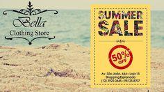 Promoção pra lá de quente na BellaClothingStore, e o mais bacana é que você pode comprar online também!!!