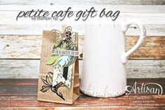 Thankful gifts, using our petite cafe gift bags by Stampin' Up | www.craftwithjoyce.ca | by Joyce Fowler