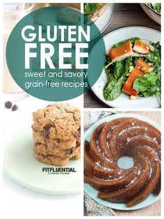 Gluten Free Recipes from @fitfluential ambassadors