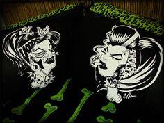 Hells Blankets  Voodoo Dolls Pillowcase Set $29.95