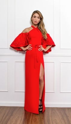 VESTIDO LONGO AMARRAÇÃO - VE30064-34   Skazi, Moda feminina, roupa casual, vestidos, saias, mulher moderna