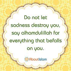 No matter what, always say ALHAMDULILLAH! #gratefulness #Allah #Islam