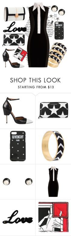 """""""Reckless in Givenchy"""" by ellenfischerbeauty ❤ liked on Polyvore featuring Elie Saab, Givenchy, blackandwhite, HowToWear and waystowear"""
