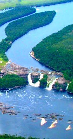 Parque Nacional Canaima, Ciudad Bolívar, ¡Venezuela. muy bella Venezuela!
