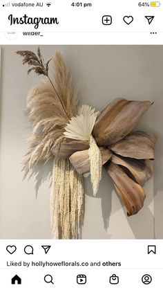 Dried Flower Bouquet, Dried Flowers, Floral Wedding, Wedding Flowers, Flower Installation, Forever Flowers, Dried Flower Arrangements, Floral Backdrop, How To Preserve Flowers