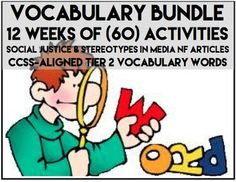 "I added ""VOCABULARY BUNDLE:60 DAYS OF ACTIVITIES (12 WEEKS)"" to an #inlinkz linkup!https://www.teacherspayteachers.com/Product/Vocabulary-Bundle-12-Weeks-60-days-of-Activities-with-Interesting-NF-Articles-1485762"