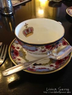 A lovely teacup in Victoria, B.C., Canada  (Photo from Living Savvy blog)