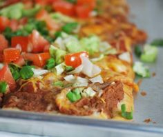 Mexican Bean Pizza | 77Recipes Weight Watchers Recipes