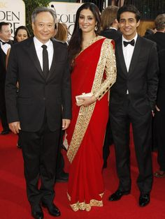 Tabu dazzled in AJSK at the Golden Globe Awards.