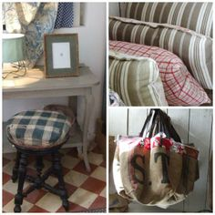 My French Country Home, French Living | Sharon SANTONI/Like the bag!