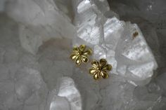 22 Karat Solid Gold Daisy Stud Post Earrings Jewelry for Women Ancient Greek Art Handmade Wedding Special Gift for Her First Birthday Gift Dainty Earrings, Gold Earrings, Byzantine Jewelry, Special Gifts For Her, First Birthday Gifts, Greek Jewelry, Handmade Wedding, Ancient Greek, Gold Studs