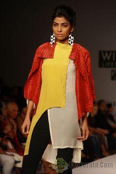 Designer Anand Kabra ,Wills Lifestyle India Fashion Week -2013, In New Delhi (Photo IANS/Amlan)