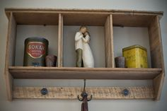 Reclaimed Barnwood Shelf by debstudio22 on Etsy, $59.00