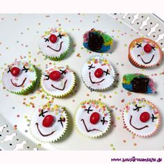 Clown-Muffins-Rezept