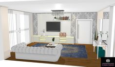 Muitas casas e apartamentos tem varandas integrados aos quartos e não apenas as salas. Aqui na casa clean eu optei por varanda/sacad...